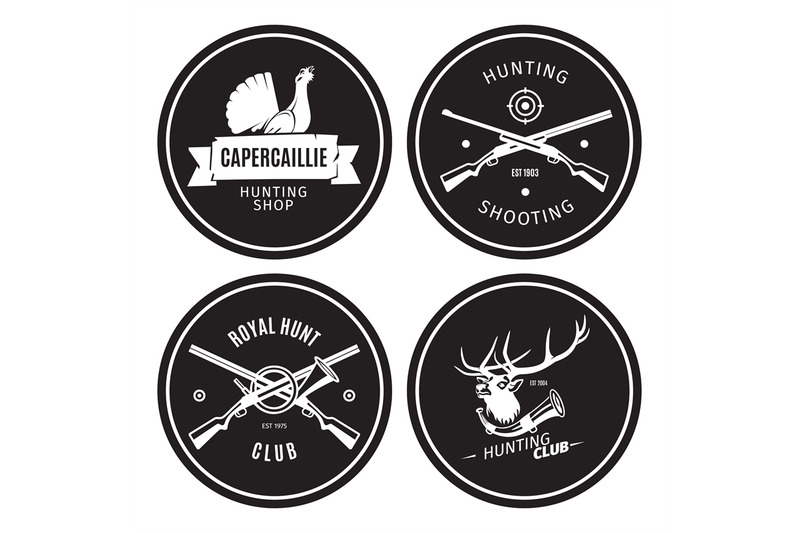 vintage-hunting-shop-emblems