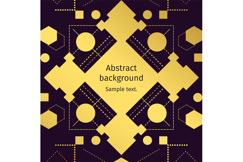 modern-geometric-abstract-gold-background-vector-illustration