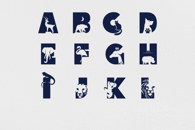the-animal-kingdom-craft-font