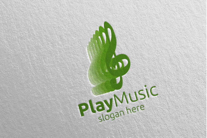 abstract-music-logo-with-note-and-play-concept-48