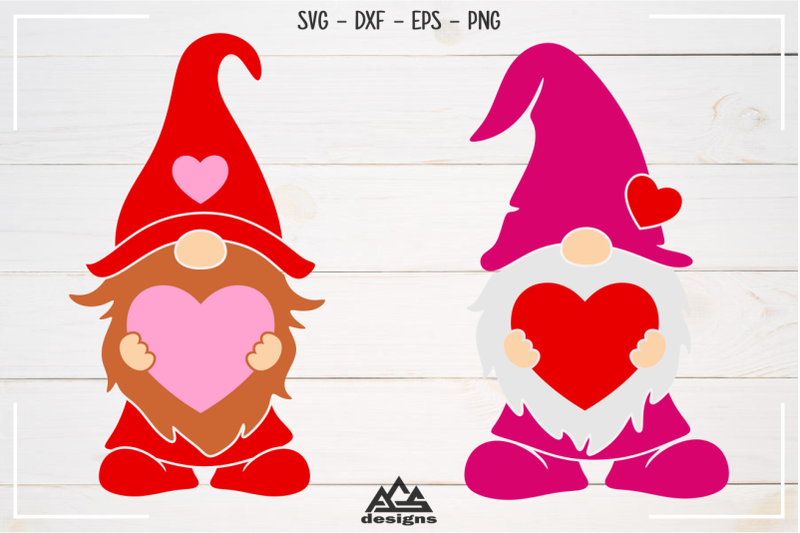 Download Love - Valentine GNOME Bundle Svg Design By AgsDesign ...
