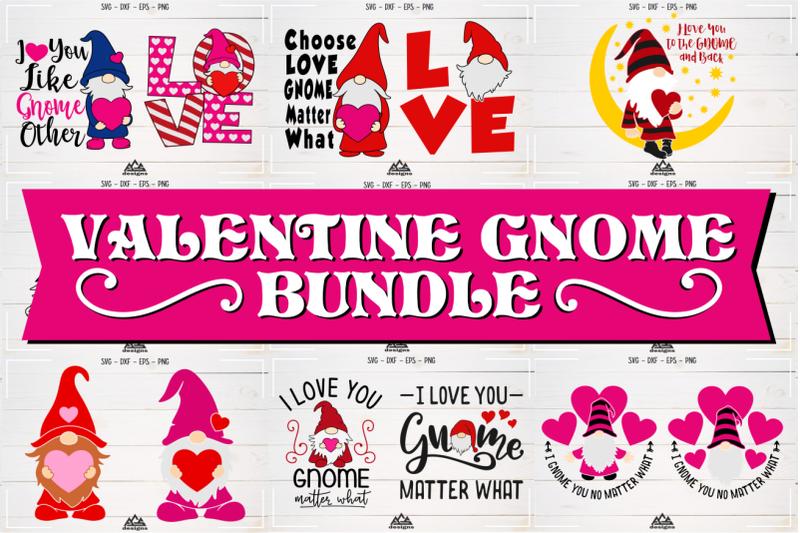 Download Love - Valentine GNOME Bundle Svg Design By AgsDesign ...