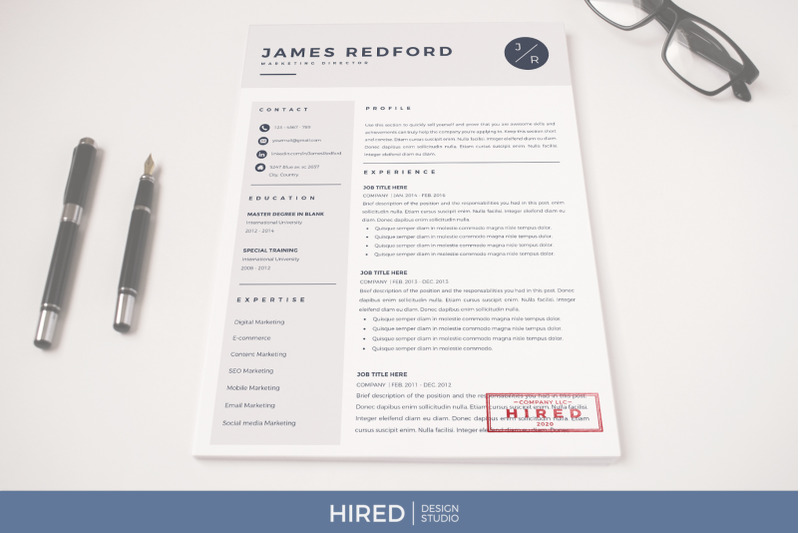 Marketing Director Resume Template job description and Cover ...
