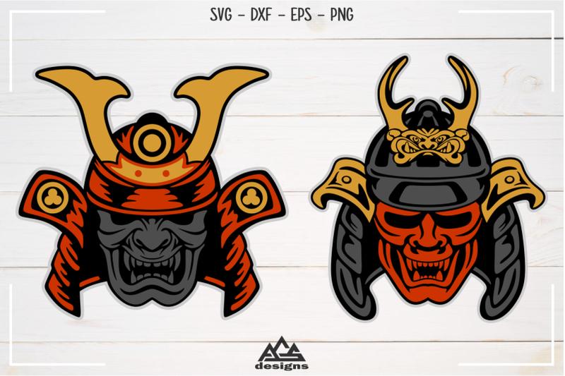 japanese-shogun-samurai-mask-svg-design