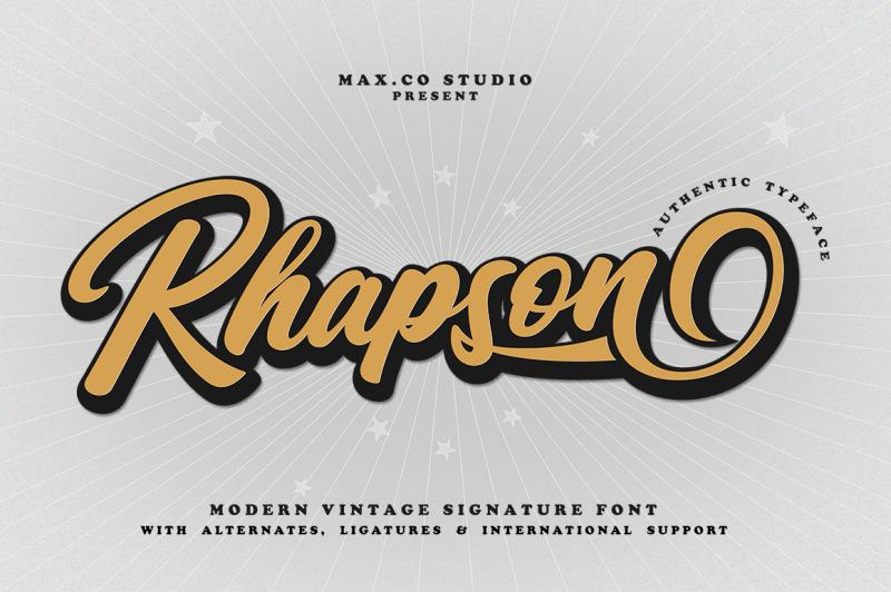 rhapson-script