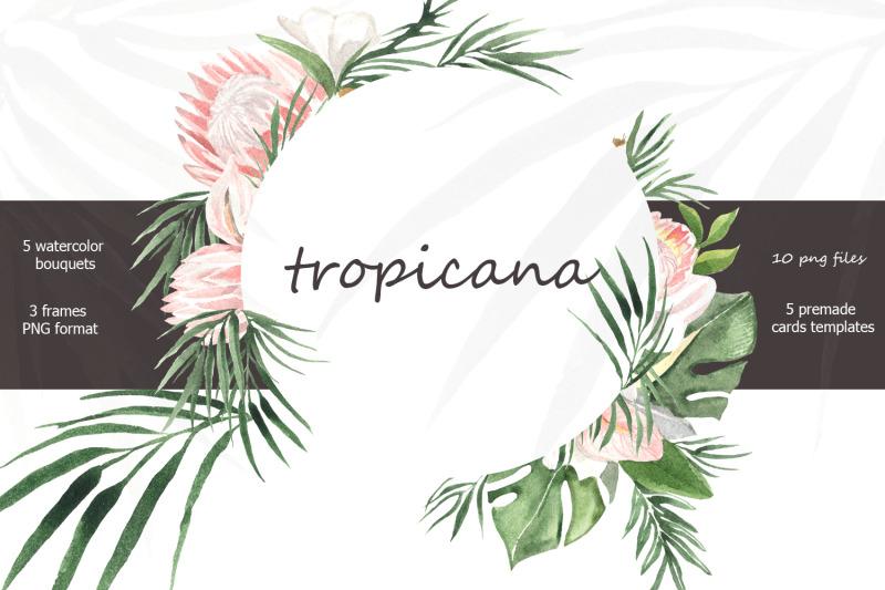 tropicana-watercolor-tropical-bouquets