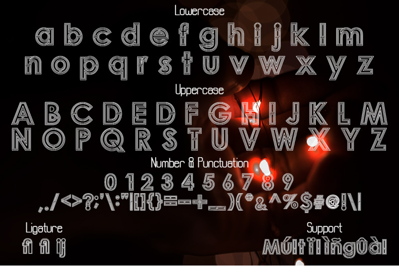labirin-a-display-font