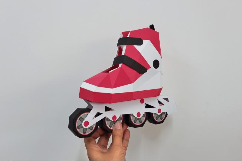 diy-roller-skates-3d-papercraft