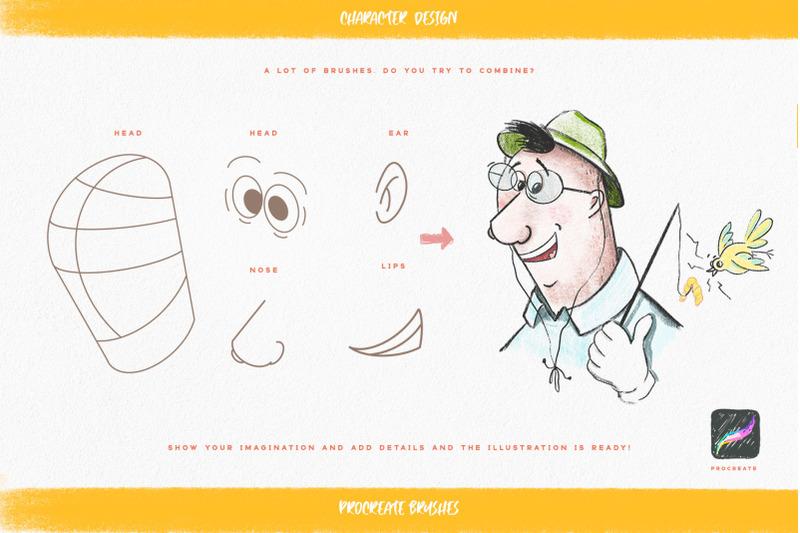 faces-amp-amp-amp-emotions-procreate-brush