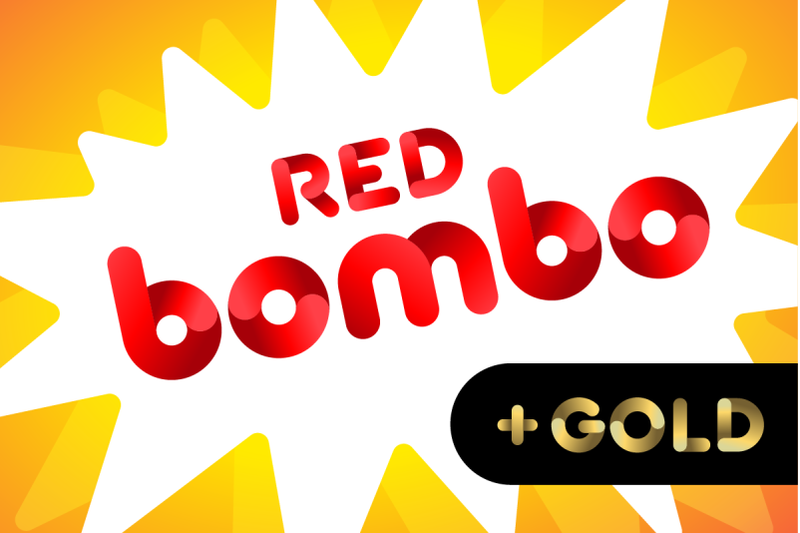 bombo-color-fonts-red-gold-silver