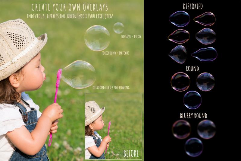 realistic-soap-bubble-overlays