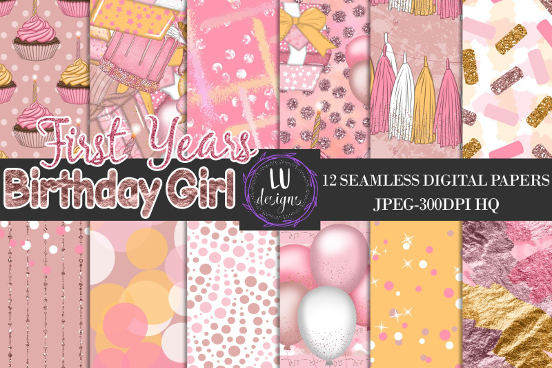 birthday-girl-party-digital-papers-birthday-backgrounds