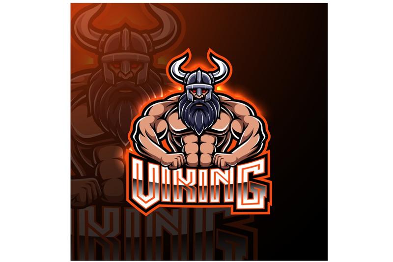 viking-mascot-gaming-logo-design