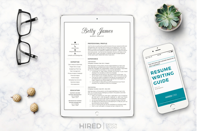 market-analyst-professional-resume-and-matching-cover-leter-amp-referenc