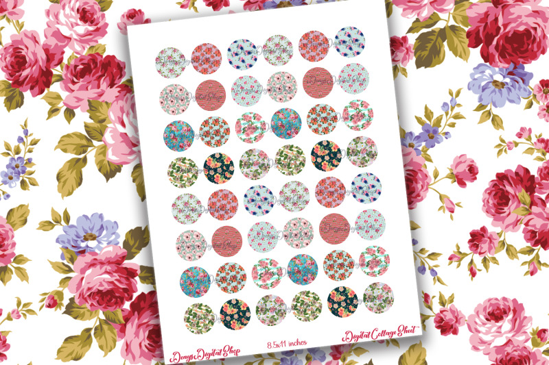 shabby-chic-digital-collage-sheet-flower-pattern