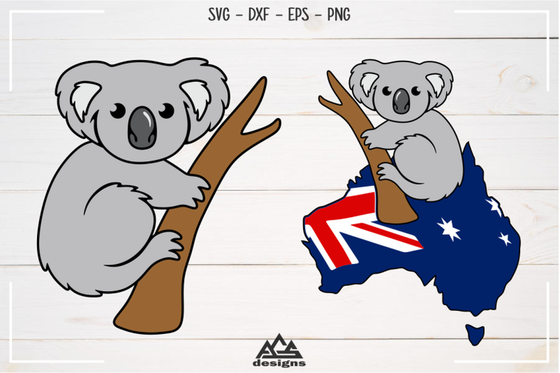 cute-koala-australia-svg-design