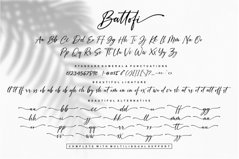 battofi-handwritten-font