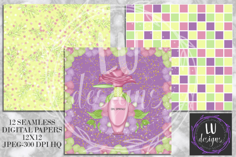 spring-digital-papers-floral-patterns-garden-scrapbook-backgrounds