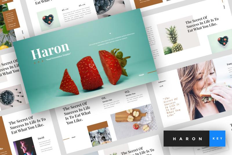 haron-food-keynote-template