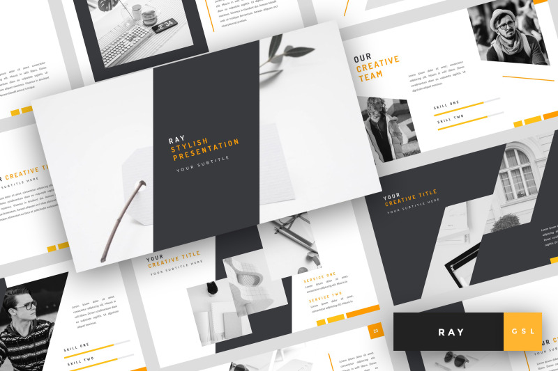 ray-stylish-google-slides-template
