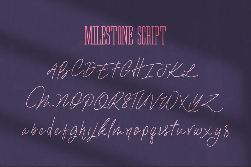ultimate-milestone-font-duo