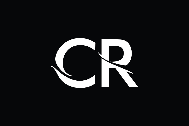 cr-monogram-logo-design