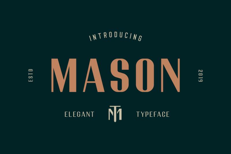 mason-elegant-font