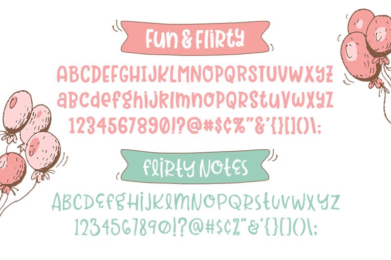 flirty-font-2-pack