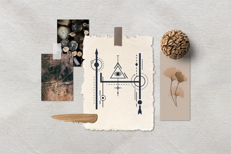 totem-mystical-geometric-font