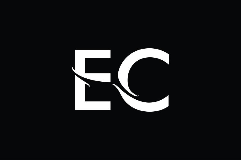 ec-monogram-logo-design