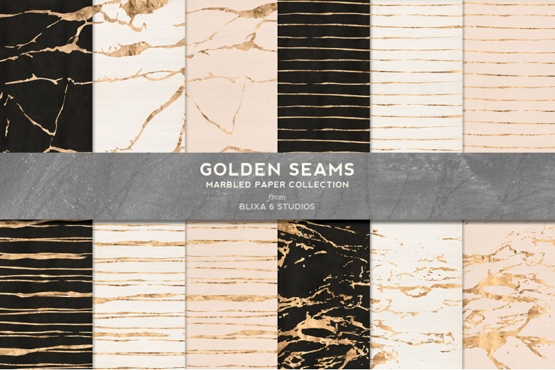 golden-seams-marbled-amp-striped-backgrounds