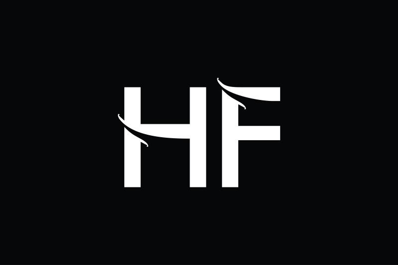 hf-monogram-logo-design
