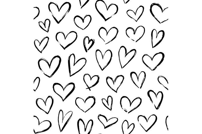 sketch-hearts-pattern-hand-drawn-valentines-heart-ornament-for-wrappi