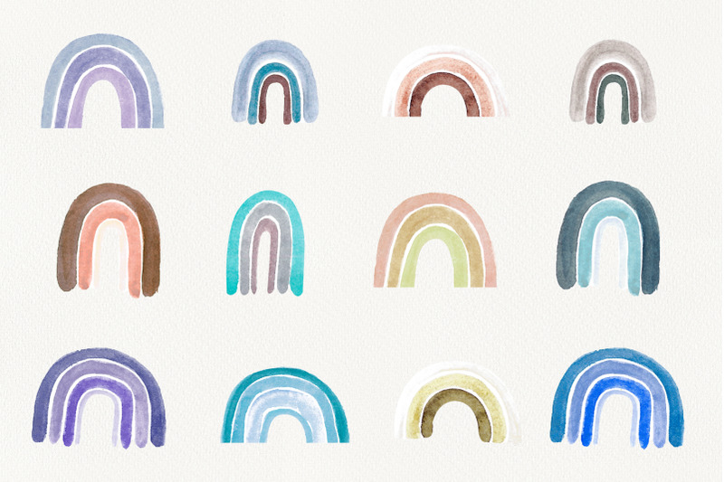 watercolor-pastel-rainbow-clipart