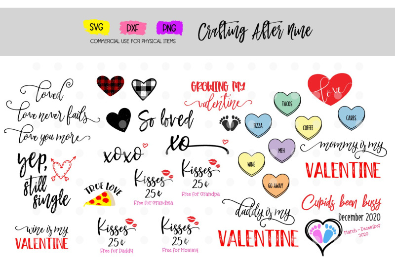 valentines-day-bundle-love-you-more-mommys-daddys-valentines-svg-dxf-png-kisses-for-grandma-coming-soon-valentines-pregnancy-annoucment