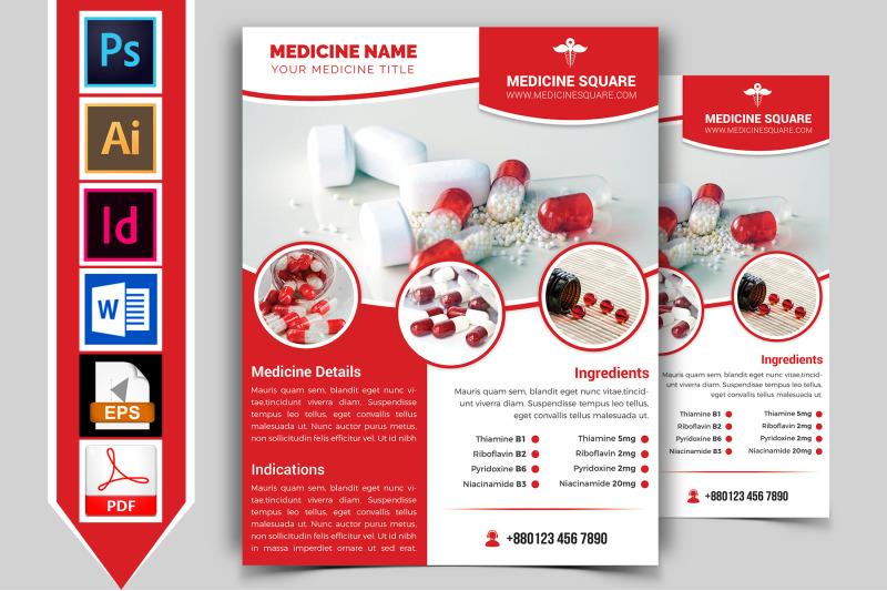 medicine-promotional-flyer-vol-03