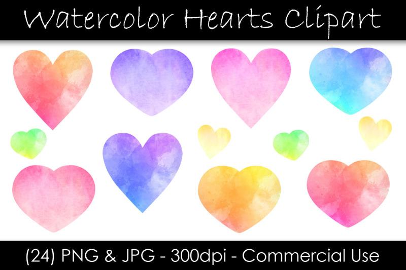 watercolor-heart-clip-art-valentine-039-s-day-hearts