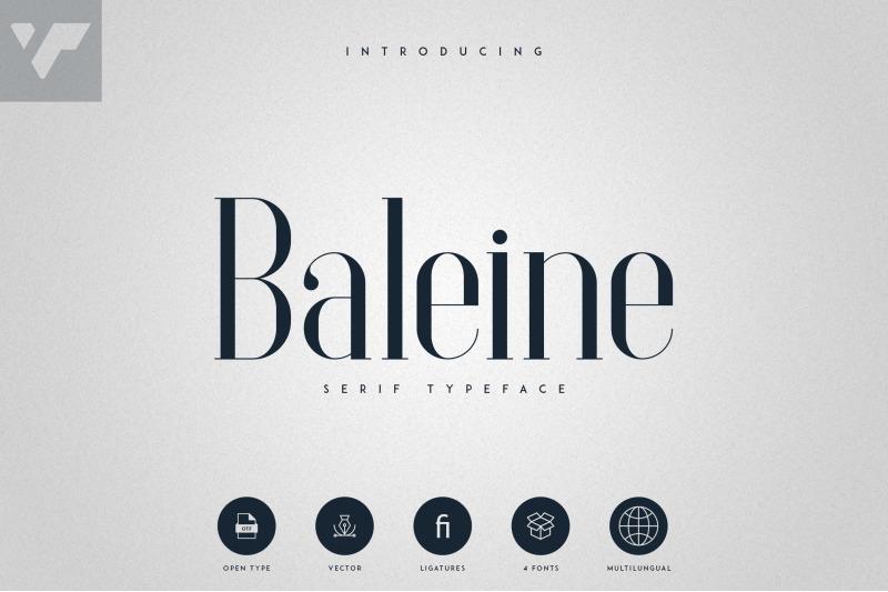 baleine-serif-typeface-4-weights