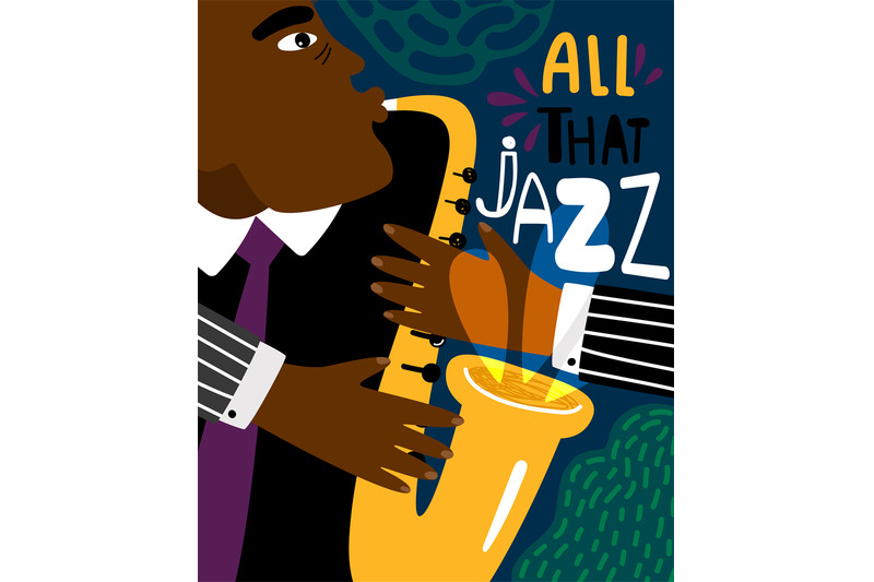 jazz-poster-clubbing-sax-music-placard-contemporary-style-saxophonis