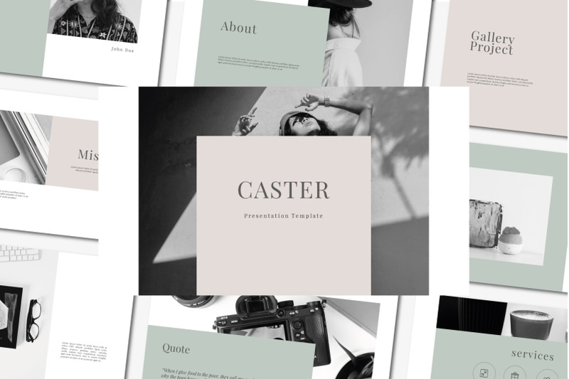 caster-powerpoin-template