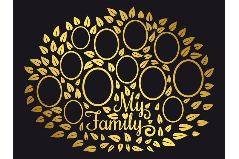 golden-vintage-genealogy-tree-genealogical-family-tree-vector-illustr