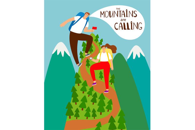 mountains-climbing-cartoon-people