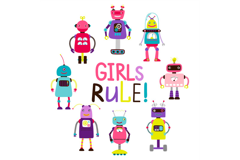 girls-rule-print-with-arobots