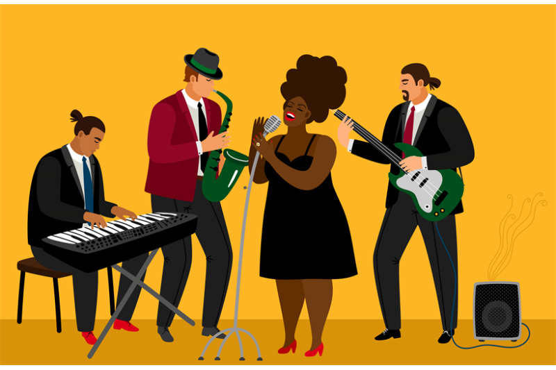 jazz-band-illustration