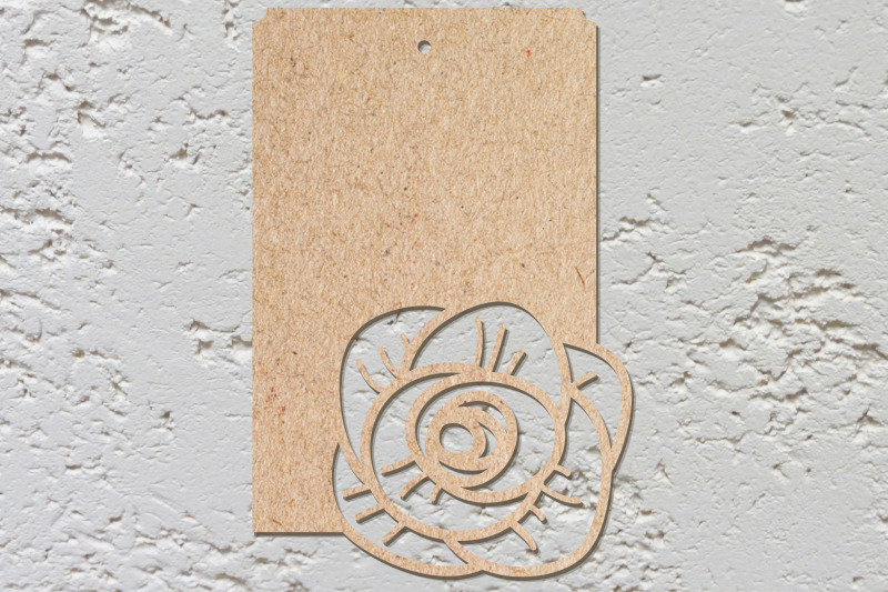 card-with-template-roses