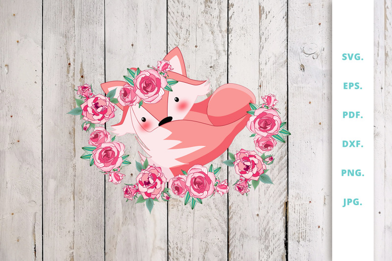 floral-foxes-graphics-and-illustration-clipart-7
