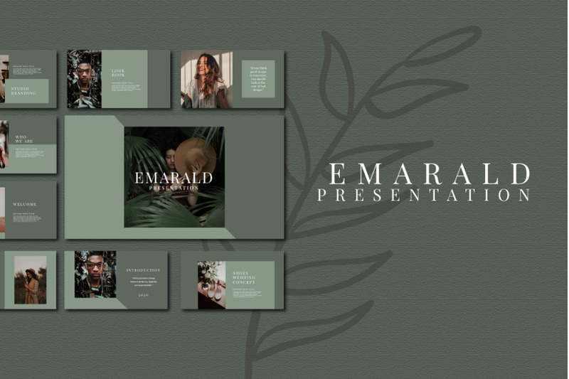 emarald-powerpoin-template