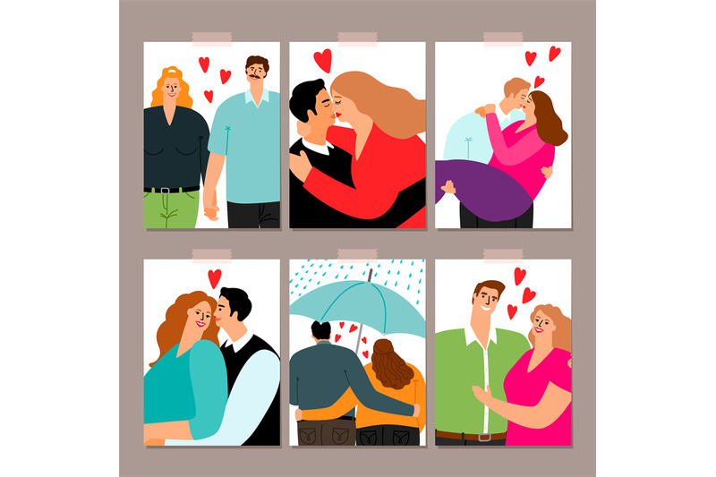 couple-in-love-cards-collection