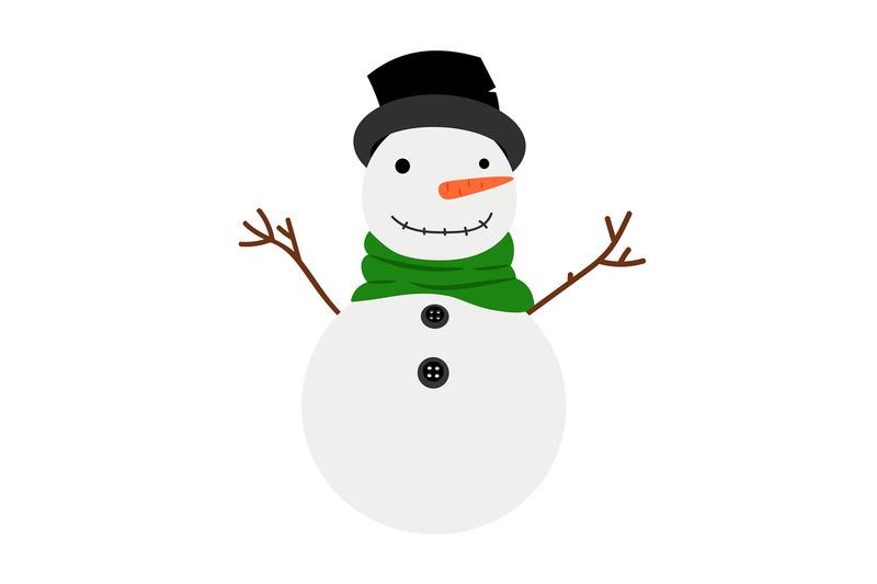 snowman-cartoon-winter-icon