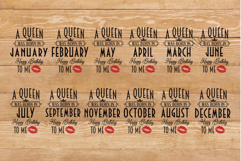 birthday-queen-t-shirt-bundle